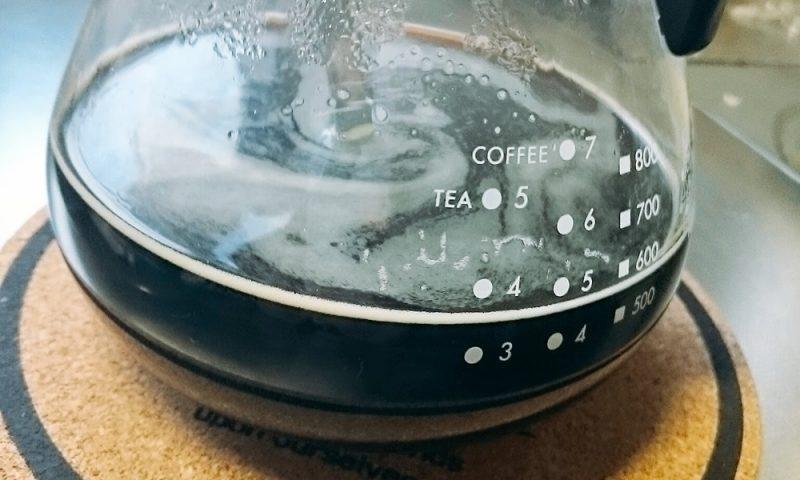 残ったコーヒーは氷コーヒーにしちゃおう!